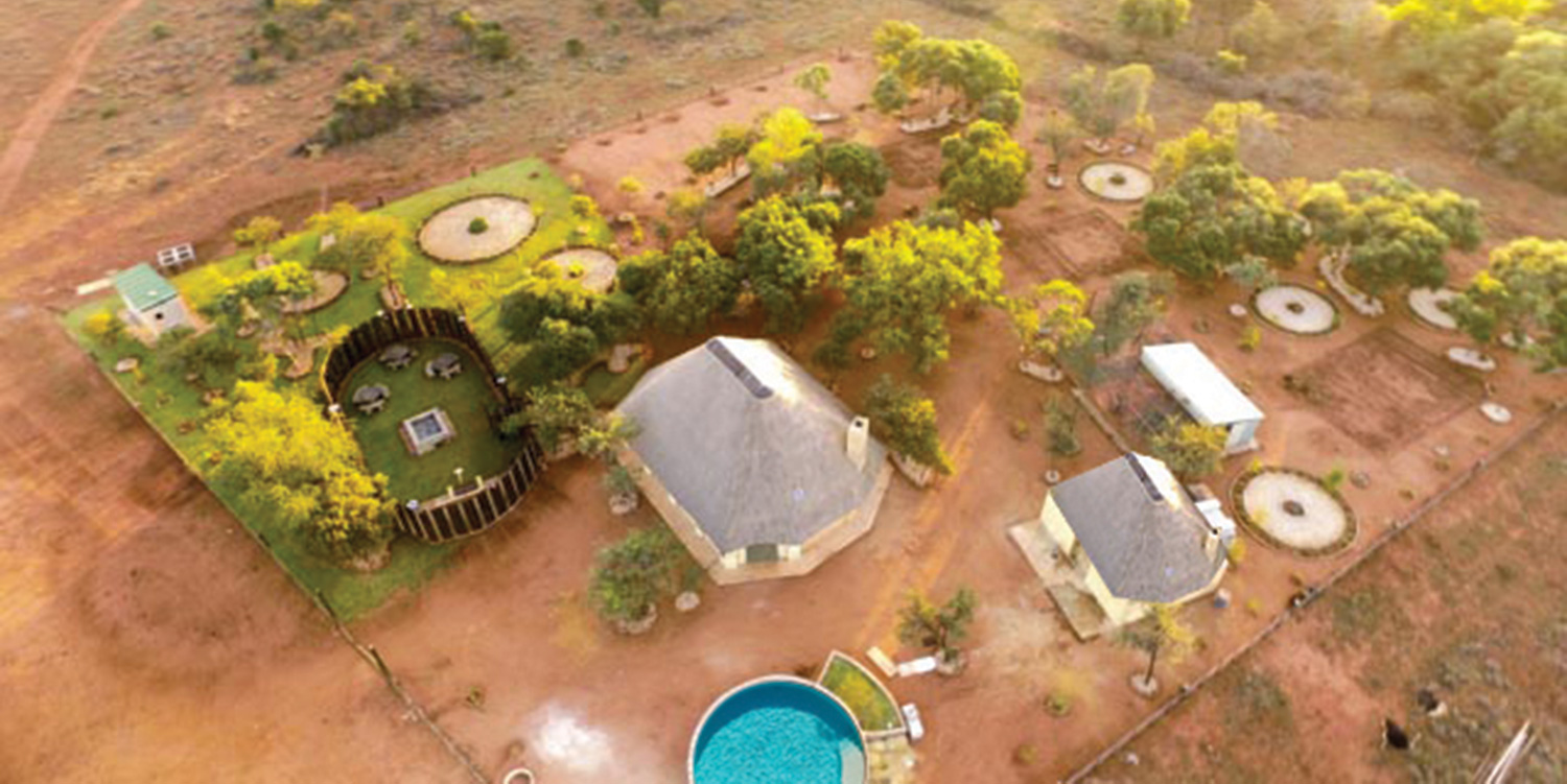 Shingalani Safaris & Bush Camp From The Air